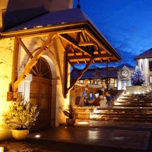 église et les autres édifices Eteaux