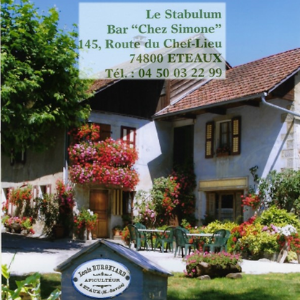 """Le Stabulum Bar """"Chez Simone"""" ETEAUX"""